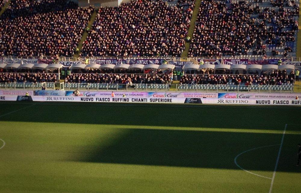 Banner promozionale nuovo Fiasco Ruffino Chianti Superiore