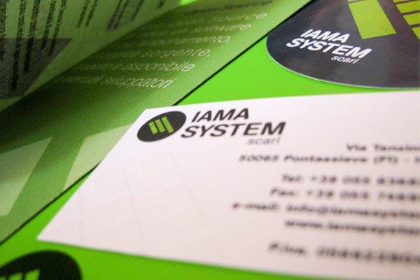 immagine coordinata Iama System