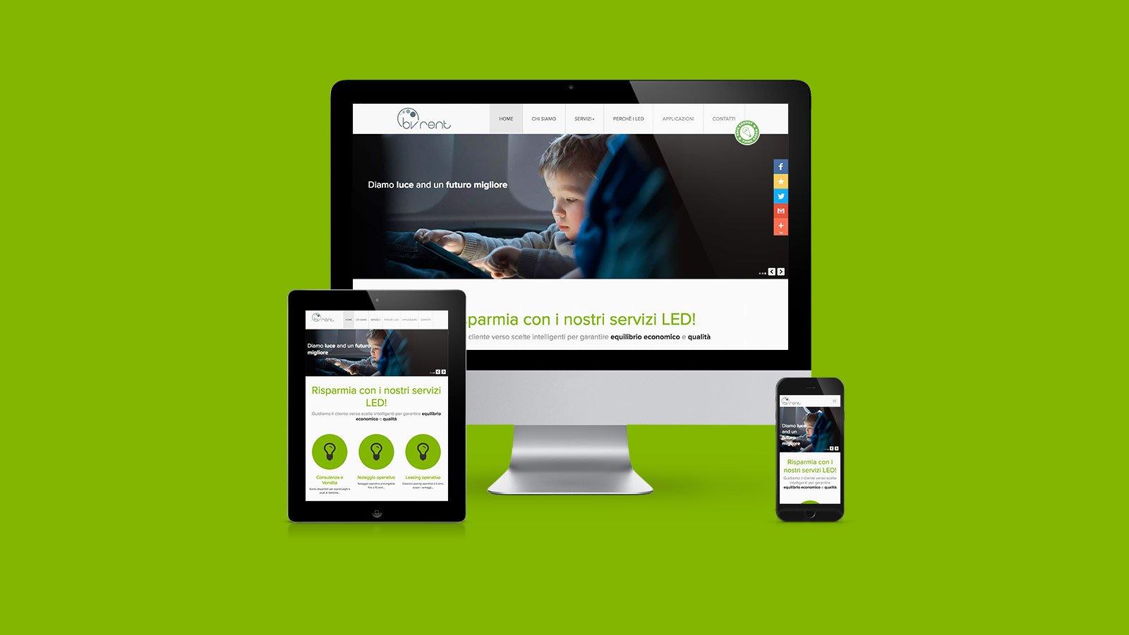 Bv Rent sito web