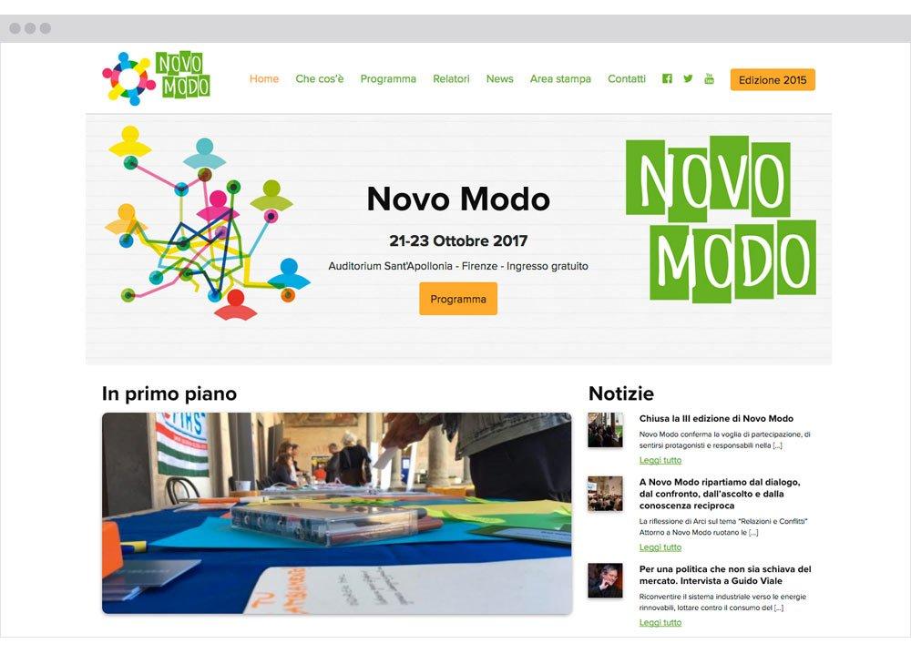 Novo Modo sito web