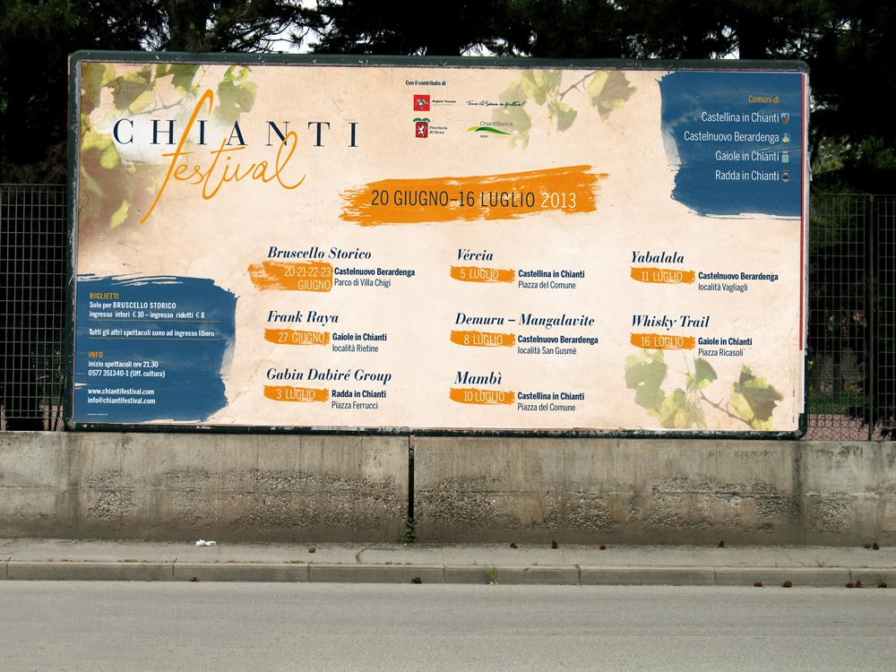 affissioni Chianti festival
