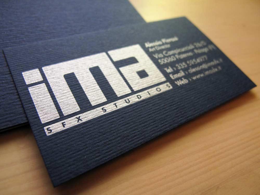 Biglietti da visita IMA sfx
