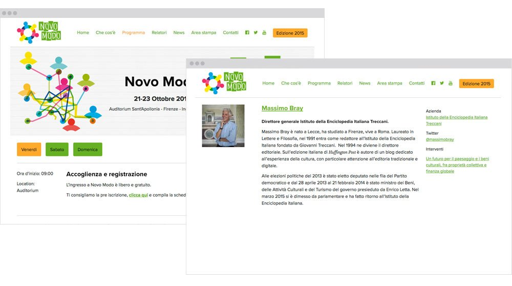 Sito Web Novo Modo