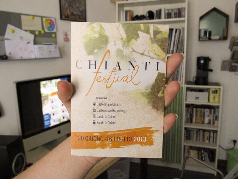 Pieghevole Chianti Festival