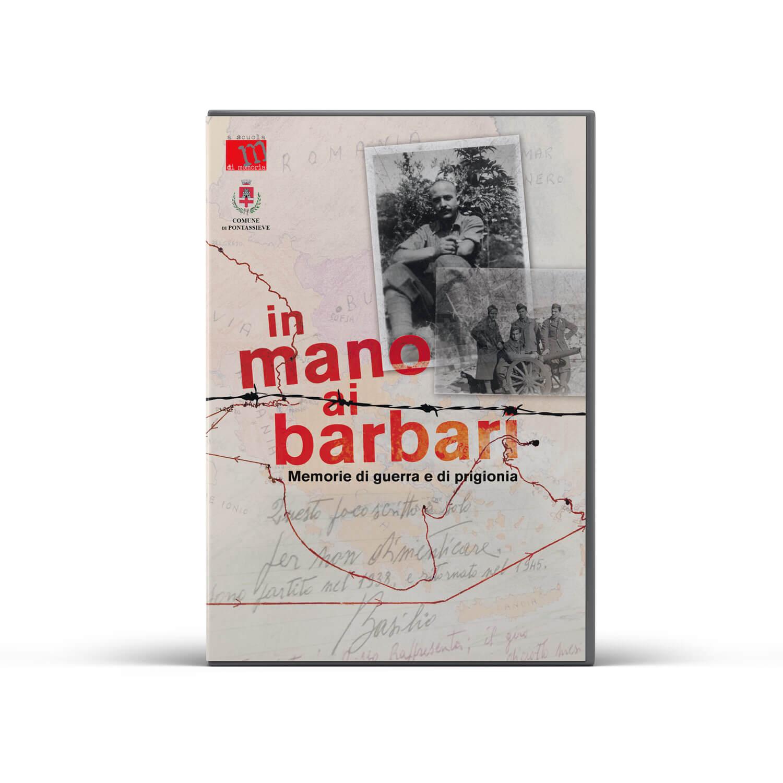 In Mano ai Barbari Basilio Pompei Dvd cover