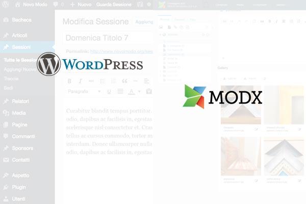Cms WordPress e Modx