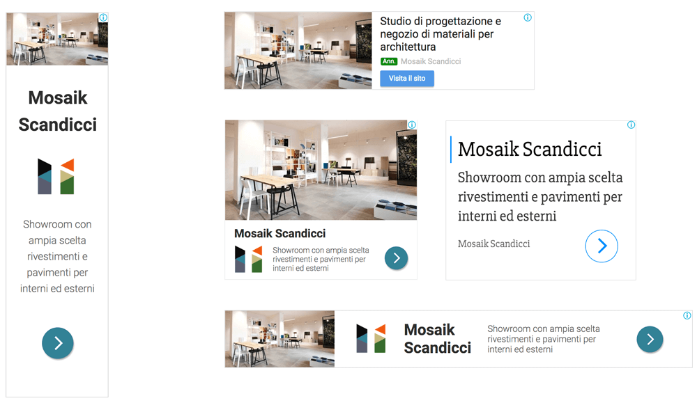 Mosaik Adwords