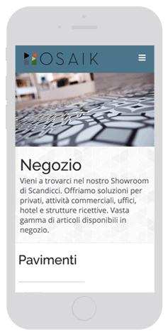 Mosaik responsive web design