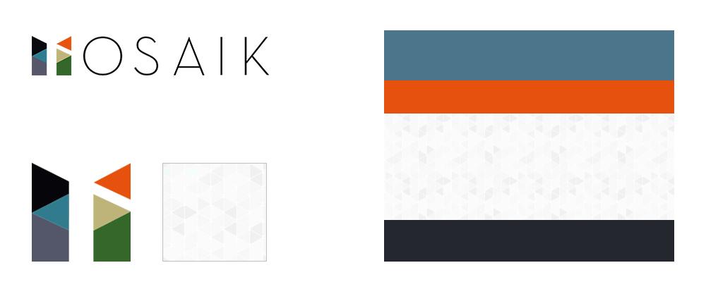 Mosaik branding e style guide