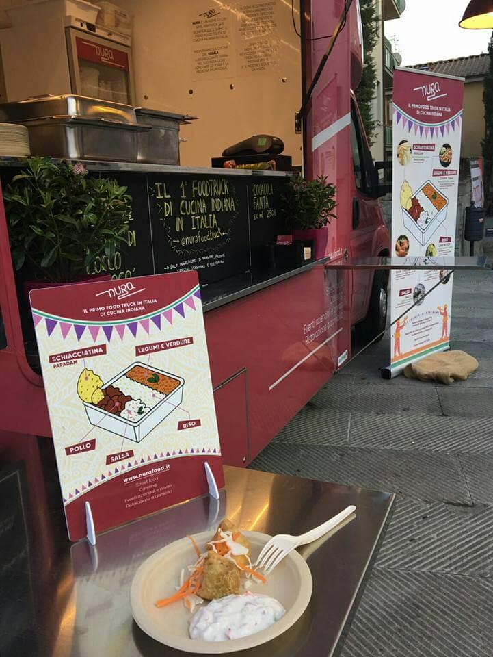 Nura food truck infografica
