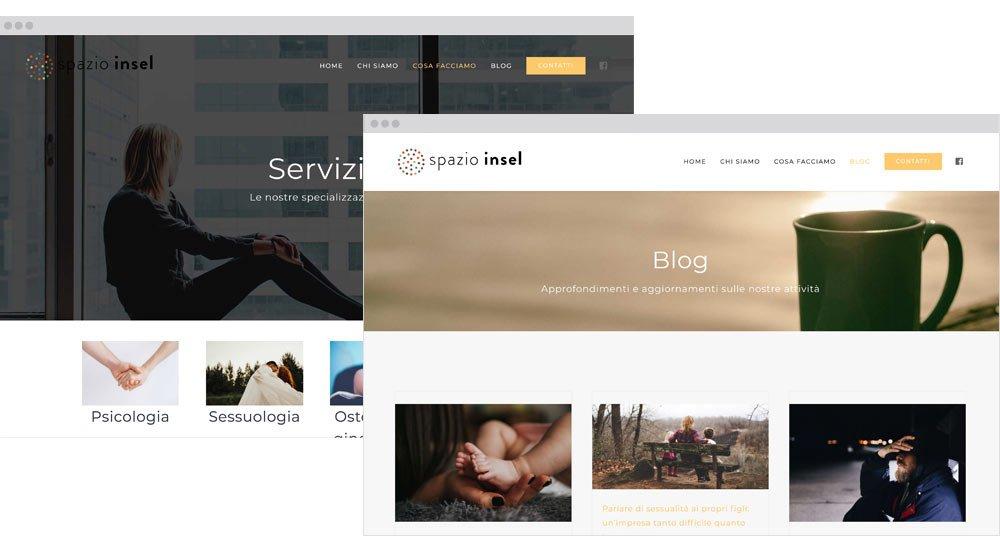 Spazio insel sito web