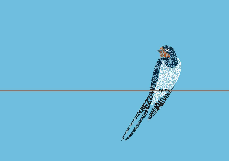 illustrazioni tipografiche per menu cartolina Ristorante Le Tre Rane Ruffino